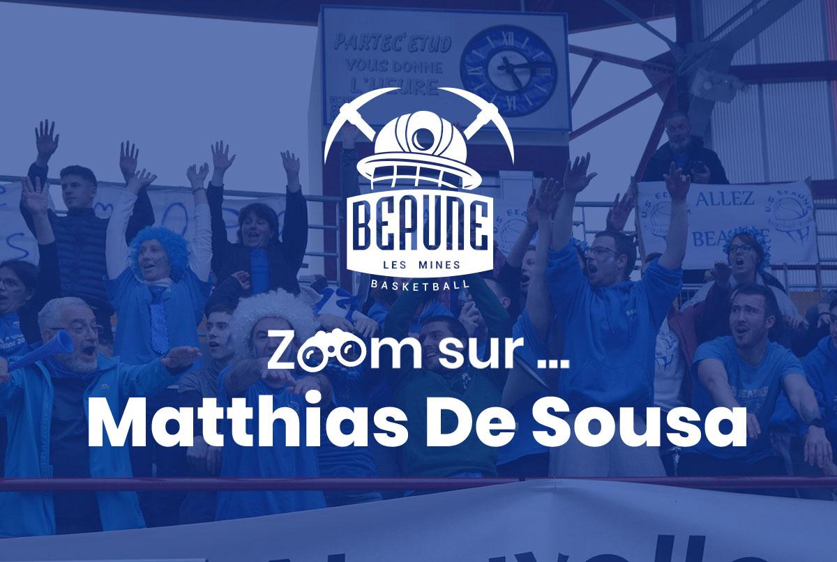 🎥 Zoom sur.. Matthias De Sousa 🎥