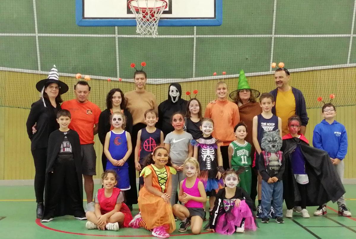 Stage d'Halloween